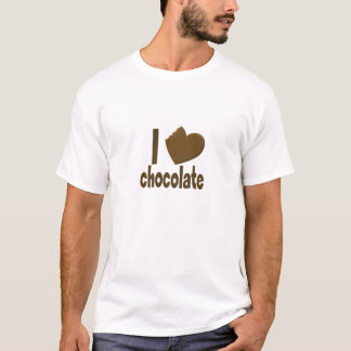 I Heart Love Chocolate T-Shirt