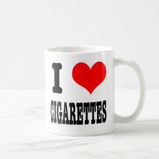 I HEART (LOVE) CIGARETTES COFFEE MUG