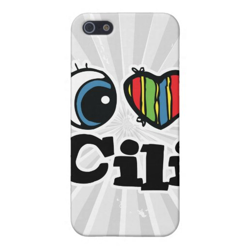 I Heart (Love) Cili Case For iPhone 5