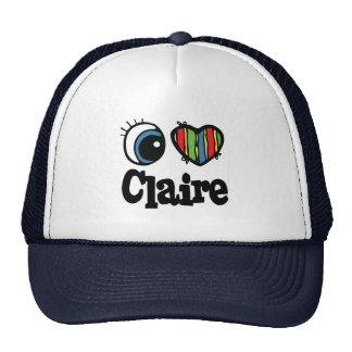 I Heart (Love) Claire Mesh Hats