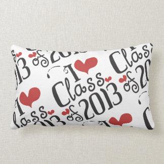 I heart (love) Class of 2013 Throw Pillows
