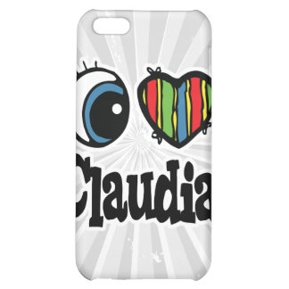 I Heart (Love) Claudia Cover For iPhone 5C