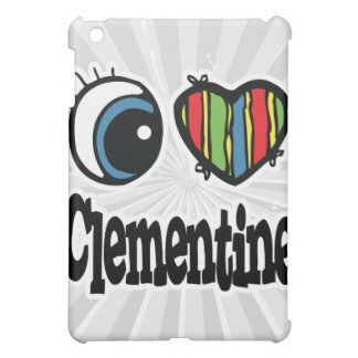 I Heart (Love) Clementine Cover For The iPad Mini
