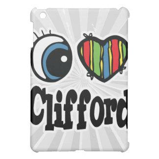 I Heart (Love) Clifford iPad Mini Cases