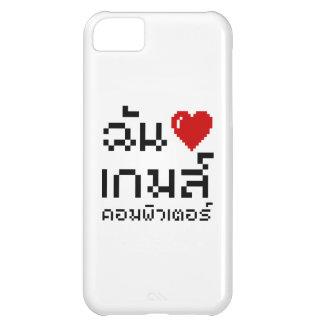 I Heart (Love) Computer Games ♦ Thai Language iPhone 5C Cover