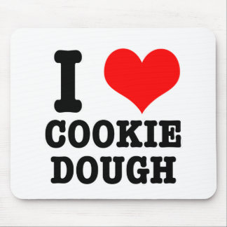 I HEART (LOVE) COOKIE DOUGH MOUSE PAD