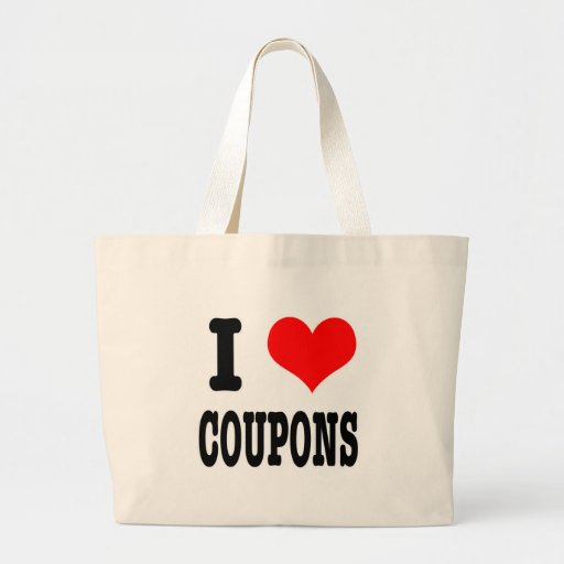 I HEART (LOVE) coupons Bag