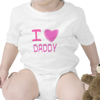 I Heart (Love) daddy T-shirt