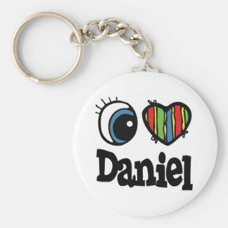 I Heart (Love) Daniel Keychain