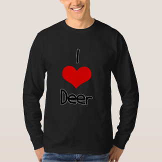 I Heart (Love) Deer T-Shirt
