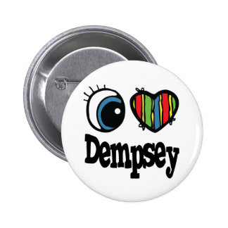 I Heart (Love) Dempsey Pinback Button
