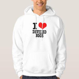 I HEART (LOVE) DEVILED EGGS HOODIE