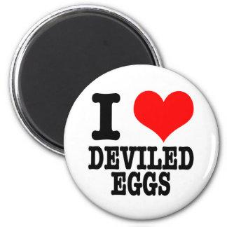 I HEART (LOVE) DEVILED EGGS MAGNET