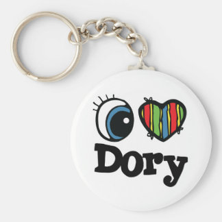 I Heart (Love) Dory Keychain