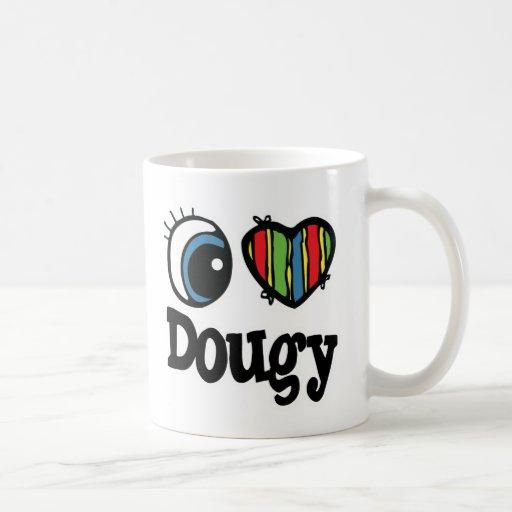 I Heart (Love) Dougy Coffee Mugs