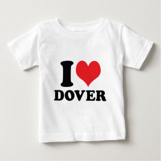 I Heart / love dover Baby T-Shirt
