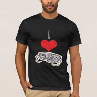 I Heart (Love) Drama masks T-Shirt