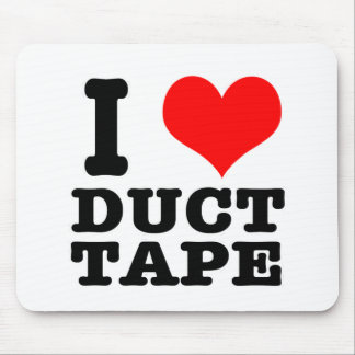 I HEART (LOVE) duct tape Mouse Pad
