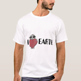I Heart Love Earth T Shirt