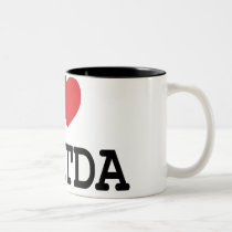I heart / love EBITDA mug