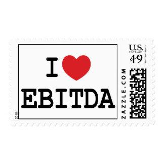 I heart / love EBITDA stamps