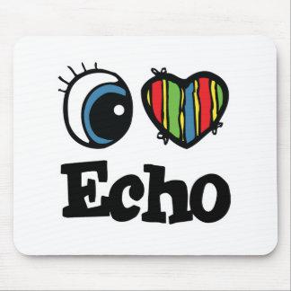 I  Heart (Love) Echo Mouse Pad