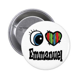 I  Heart (Love) Emmanuel Button