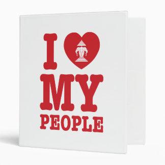 I Heart (Love) Erawan My Lao People 3 Ring Binder