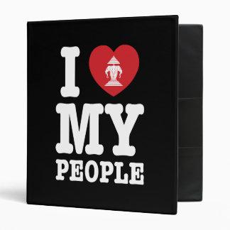I Heart (Love) Erawan My Lao People Binder