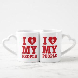I Heart (Love) Erawan My Lao People Coffee Mug Set