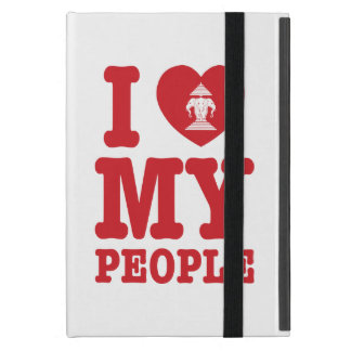 I Heart (Love) Erawan My Lao People iPad Mini Covers