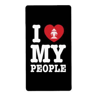 I Heart (Love) Erawan My Lao People Label
