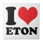 I Heart / love Eton Ceramic Tile