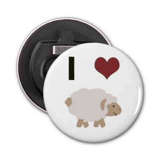I heart (love) Ewe (you) Bottle Opener