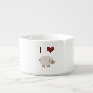 I heart (love) Ewe (you) Bowl