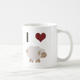 I heart (love) Ewe (you) Coffee Mug