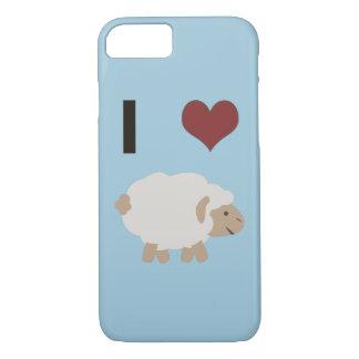 I heart (love) Ewe (you) iPhone 8/7 Case