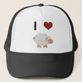 I heart (love) Ewe (you) Trucker Hat