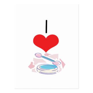 I Heart (Love) Eyeshadow Postcard