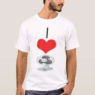 I Heart (Love) Fans  T-Shirt