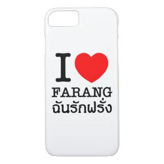 I Heart (Love) Farang iPhone 7 Case