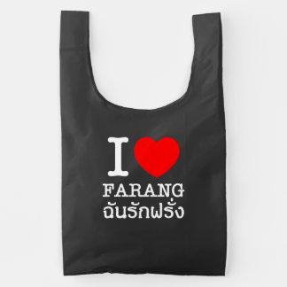 I Heart (Love) Farang Reusable Bag