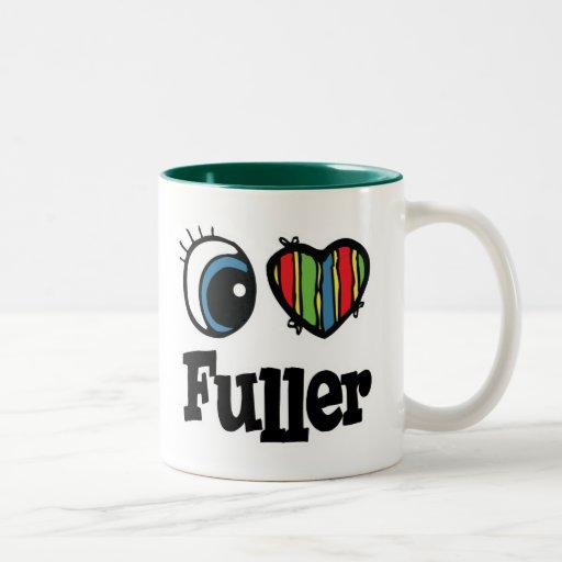 I  Heart (Love) Fuller Two-Tone Coffee Mug