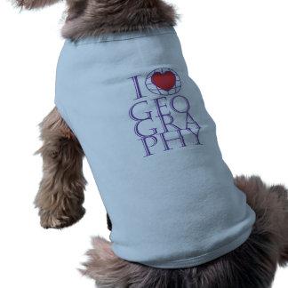 I heart (love) Geography Shirt