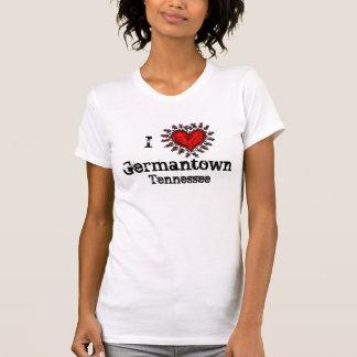 I heart (love) Germantown Tennessee T-shirt
