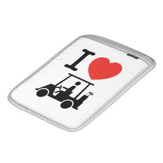 I Heart (Love) Golf Cart iPad Sleeve