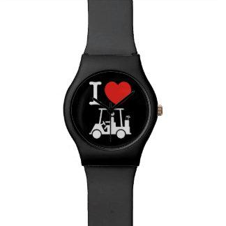 I Heart (Love) Golf Cart Watch