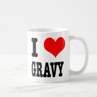 I HEART (LOVE) GRAVY COFFEE MUG