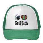 I Heart (Love) Griffith Trucker Hat