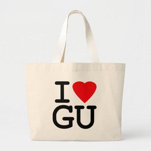 I Heart Love Guam Bags